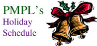 PMPL Holiday Schedule